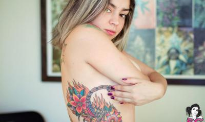 22 фото к записи — Голая девушка с татуировками 22 фото