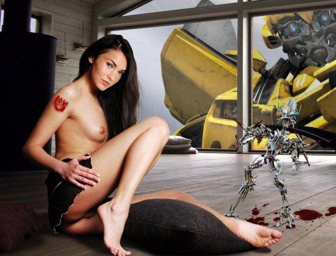 Меган Фокс голая в трансформерах