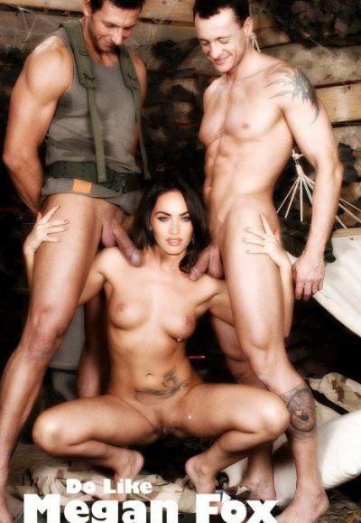 Групповое порно с Меган Фокс 59 фото