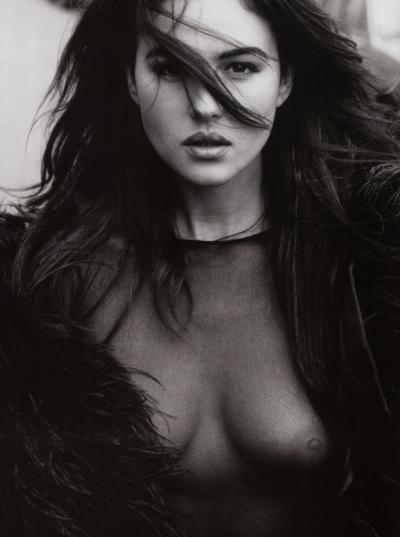 Моника Беллуччи в молодости 5 фото
