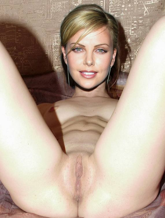 Charlize theron nude pussy
