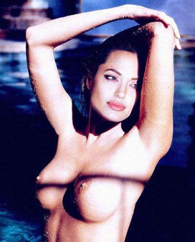 Анджелина Джоли без лифчика 17 фото