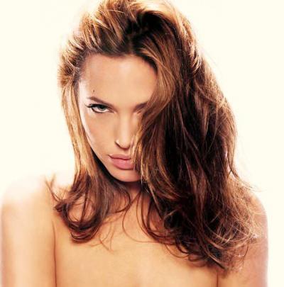 Анджелина Джоли и её пышные волосы 10 фото