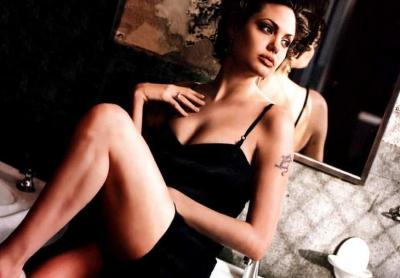 Анджелина Джоли с короткой стрижкой 7 фото