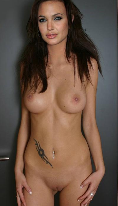 Анджелина Джоли стоит без одежды 23 фото
