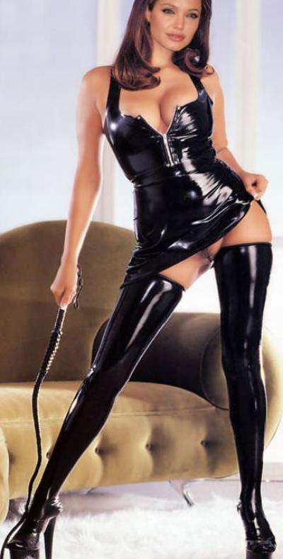 Анджелина Джоли в латексе 40 фото