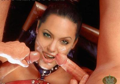 Анджелина Джоли в сперме 50 фото