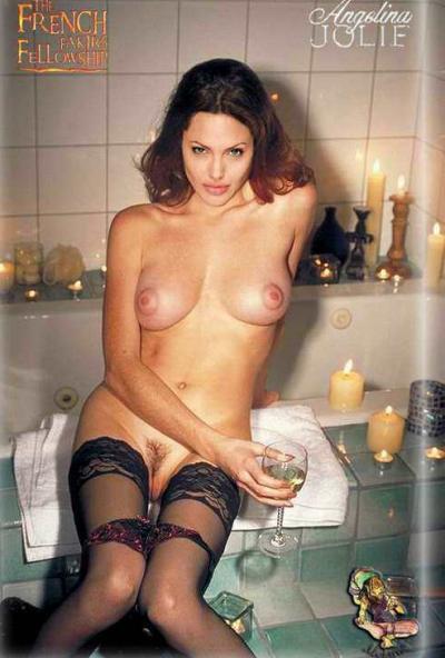 Анджелина Джоли выпивает без трусов 36 фото