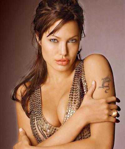 Симпатичная Анджелина Джоли 11 фото