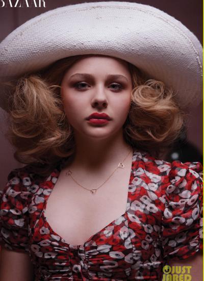 Хлоя Грейс Морец в шляпе 7 фото