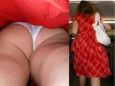 Апскирт женщины в красном 17 фото