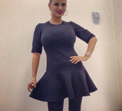 Анна Семенович в платье 56 фото