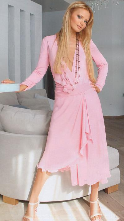 Смотреть онлайн бесплатно фото Даны Борисовой в халате 4 фото