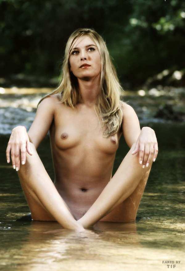 Красивое голое тело Марии Шараповой