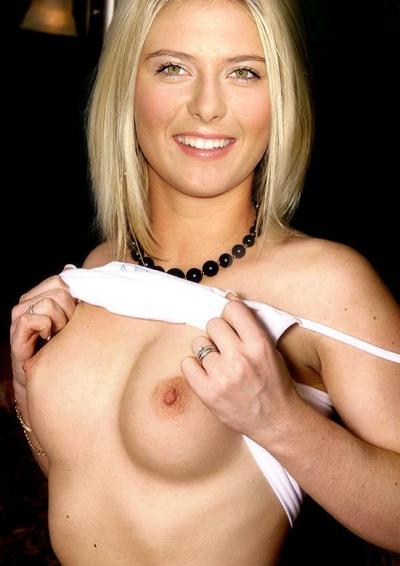 Мария Шарапова показала грудь 30 фото