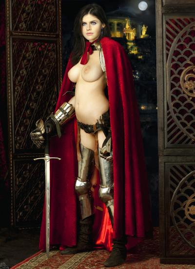 Горячее фото Александры Даддарио в красном плаще 10 фото