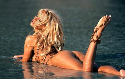 Памела Андерсон обнаженная на море 13 фото