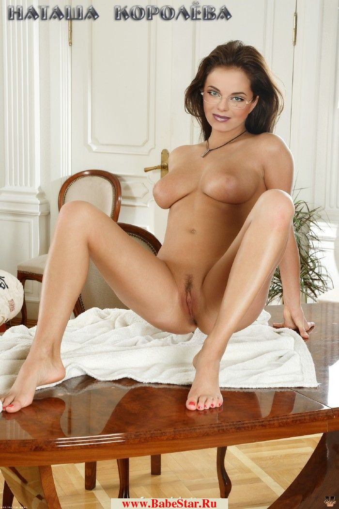 Наташа Королева голая залезла на стол