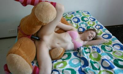 Плюшевый медведь трахается 8 фото